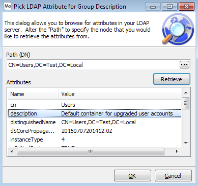 LDAP Server Configuration on saml attribute map, active directory attribute map, shibboleth attribute map,