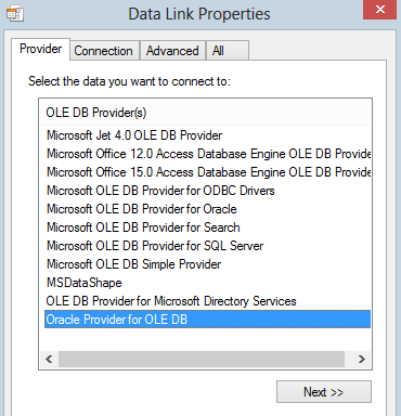 What Is Ole Db Provider
