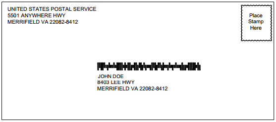 Configuring USPS Intelligent Mail Barcodes